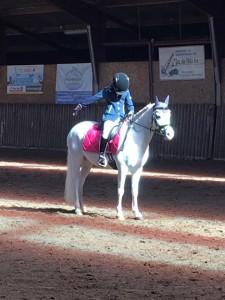prinses op de witte pony